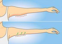 Упражнение №1, которое избавит от дряблой кожи на руках за 1 неделю и займет всего минуту!