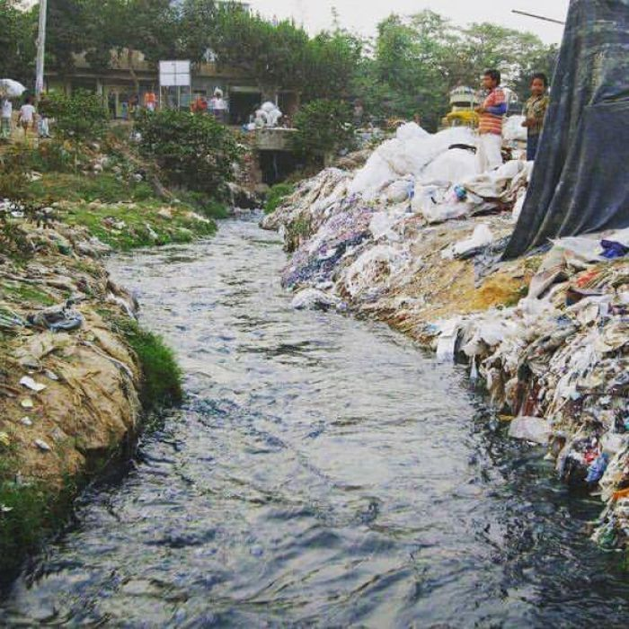 Farmers in China and India are predicting the colour of the next fashion season by the colour of their rivers due to run-off from the textile industry.