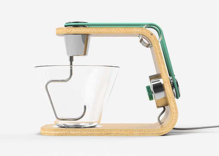 The latest from James Stumpf, this series of appliances (toaster, mixer,  and blender) utilizes sustainable and unconventional materials to make each  not ...