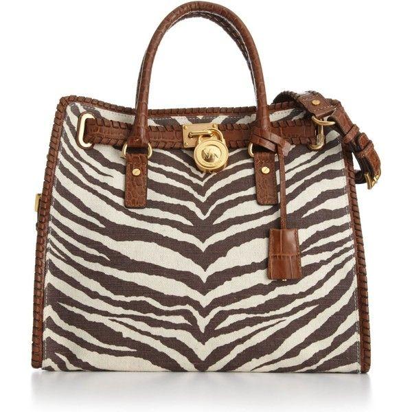 MICHAEL Michael Kors Handbag, Hamilton Whipped Canvas Tote - All Handbags -  Handbags \u0026 Accessories - Macy\u0027s - StyleSays , www.