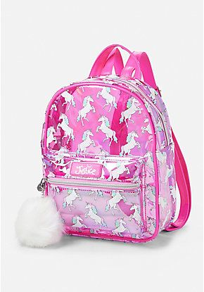 Transparent Unicorn Mini Backpack | Justice new do in 2019 ...