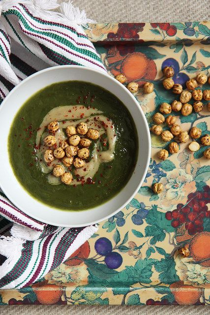 Greenest Spring Soup Ever  http://www.deliciousistanbul.com/blog/