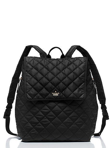 Kate Spade Ridge Street Torrence Baby Backpack Black