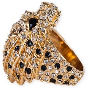 Saint Laurent Lion Head Ring