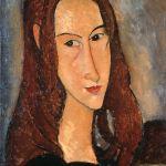 Ritratto di ragazza dai capelli rossi (Jeanne Hébuterne), 1918. Collezione privata