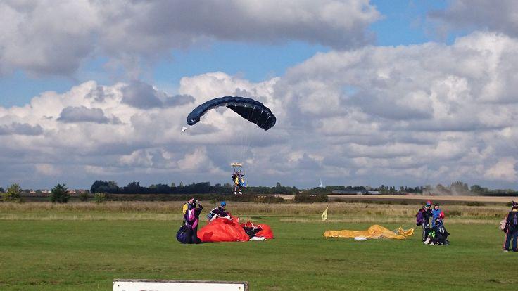 Greene & Co. charity skydive 2014