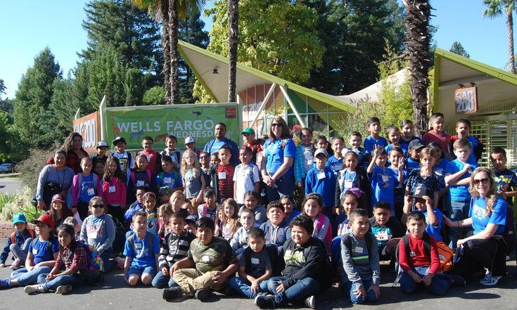 Thanks to Wells Fargo students in Title 1 schools have the opportunity to visit the Sacramento Zoo. Learn more on the Sacramento Zoo News Blog.