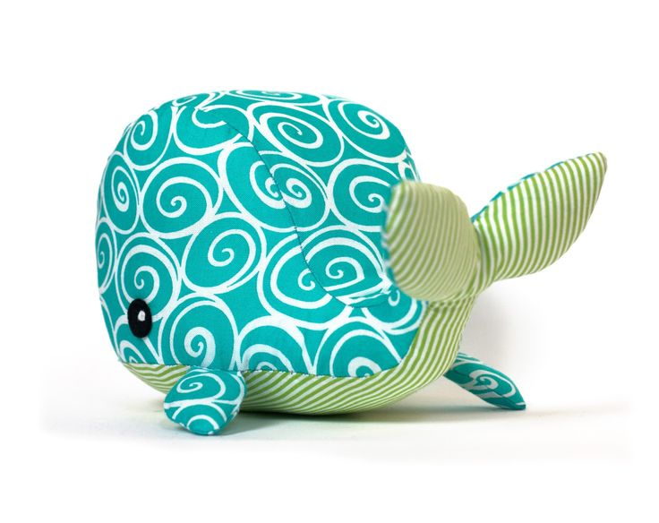 Free+Stuffed+Animal+Patterns | Toy Patterns by DIY Fluffies: Whale stuffed animal pattern