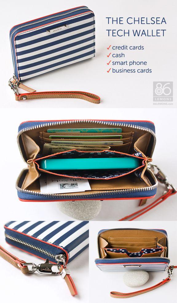 Chelsea Tech Wallet (fits smart phone) 86lemons.com #wallet #accessories #iphone