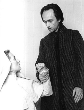 """With John Cazale in William Shakespeare's """"Measure for Measure"""" (theather - 1976)"""