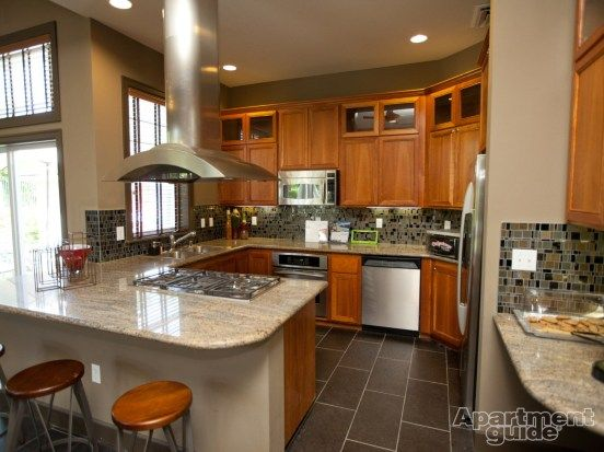 Luxury apartment kitchen