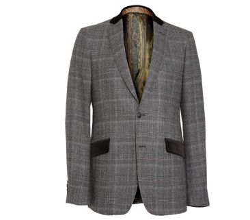 a horse Riding jacket Cross with Plaid...the neck and pocket flap though #NICE