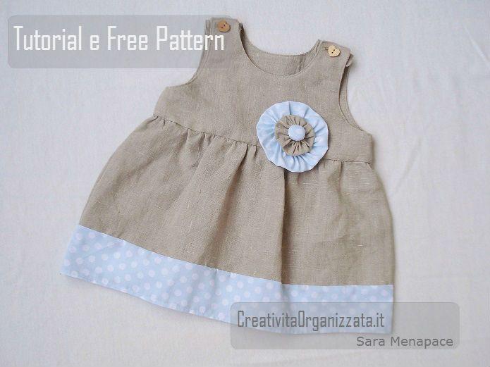 Come cucire un vestitino da bimba in stile Zakka. Come cucire un vestitino da bambina, taglia 12-18 mesi, semplice e facile da fare, tutto Zakka Style. Le spiegazioni, le foto e i cartamodelli gratuit