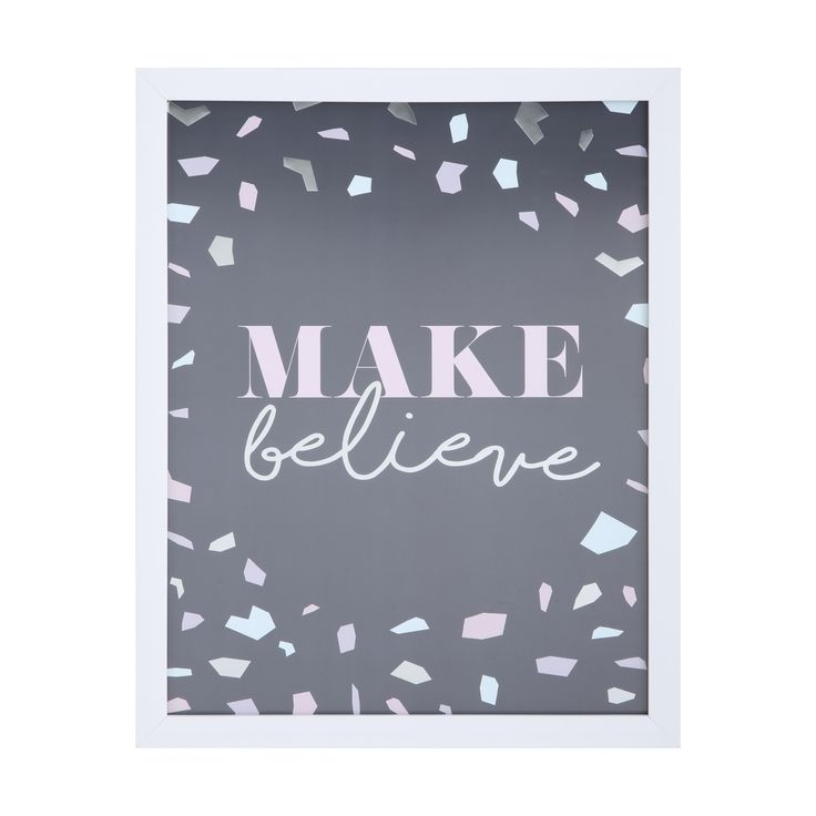 Make Believe Framed Print | Kmart