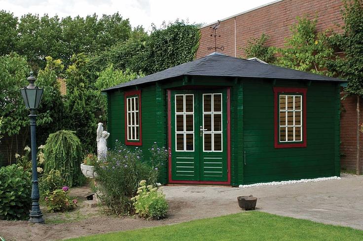 Tuin Deco Lotte Log Cabin 4m x 4m