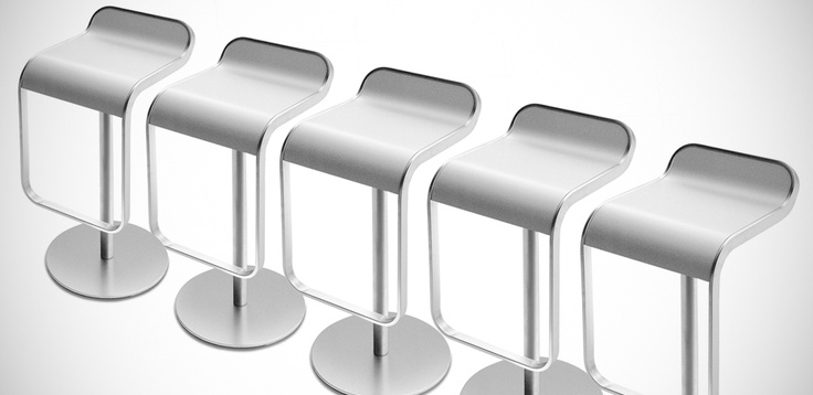 Lem Design Stool from La Palma, design Shin & Tomoko AZUMI