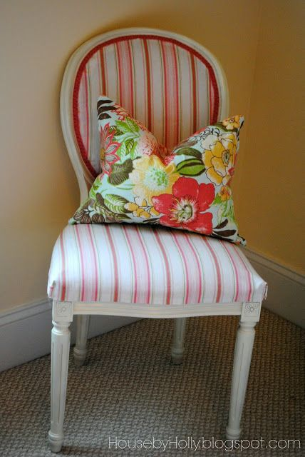 House by Holly: A Sophisticated Girls Room | One Adventure at a Time Placemat pillows!!