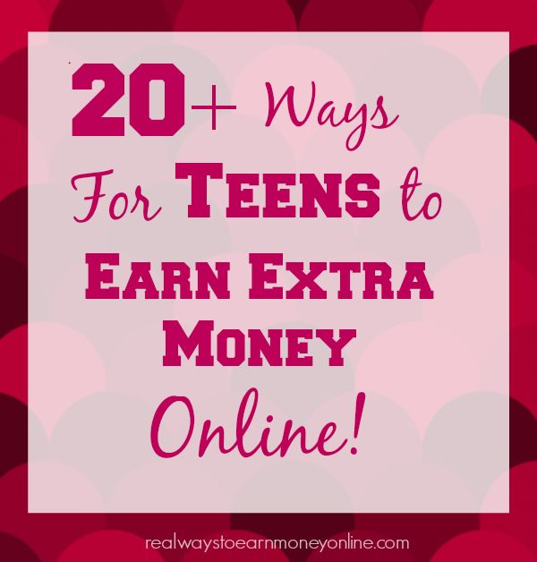 Are you a teen or the parent of a teen who needs to make money online? This post has tons of options for teens to get started earning extra money today -- all legitimate and trusted sites!