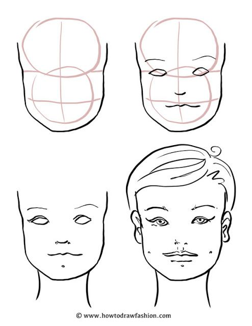 How To Draw Fashion: How to Draw the Face, Eyes, Nose and Lips