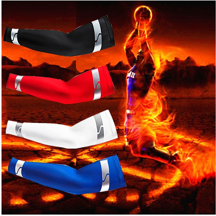 Howard Top Basketball Equipment Sports Safety Elbow Warm Protective Arm Sleeve For Men Stretch Padded Support Guard Pad