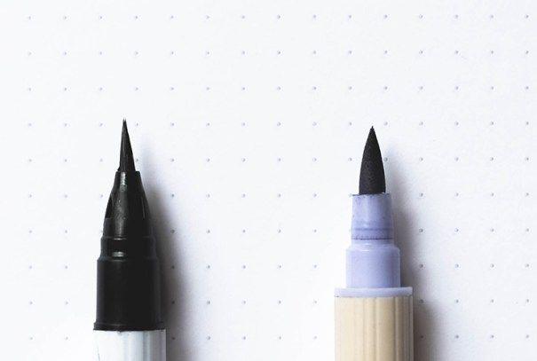 Best Calligraphy Pens for Beginners in Brush Lettering