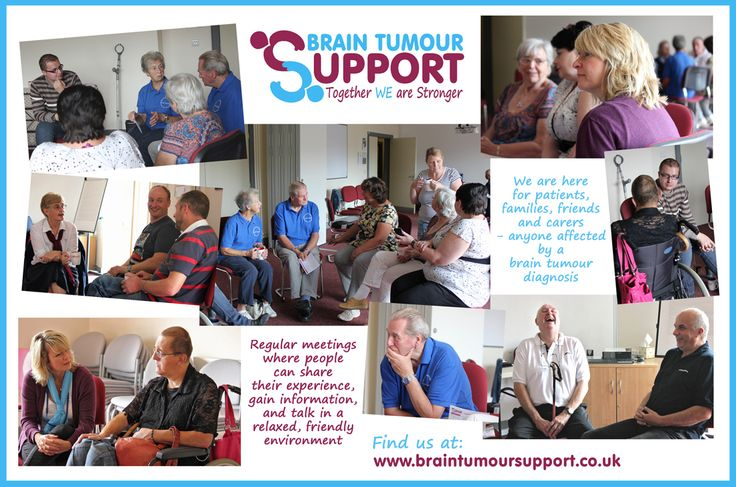 Support Groups help share experience and also friendship and laughter