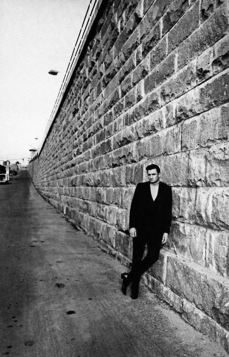Johnny Cash at Folsom Prison, 1968.