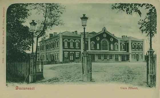 Bucuresti , Gara Filaret , 1901