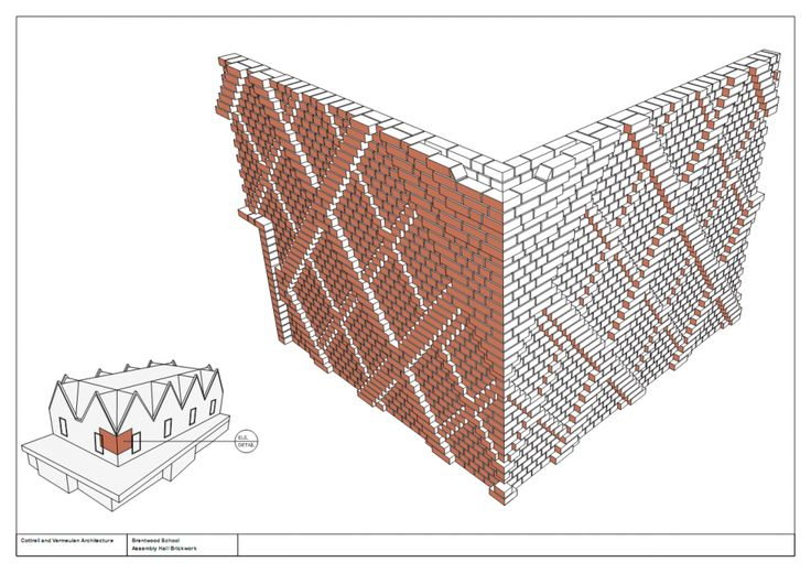 Cottrell & Vermeulen Architecture: Brentwood School Study Centre and Auditorium, London.