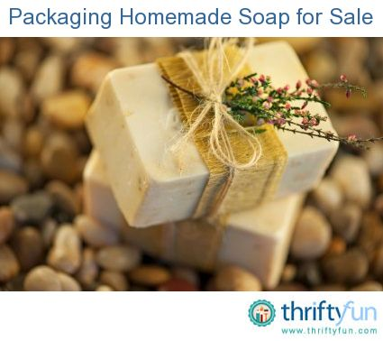 This is a guide about packaging homemade soap. Whether it's for a bazaar or a boutique shop downtown, if you are making soap to sell, how you package it is important. Make a great first impression by packaging your homemade soap right.