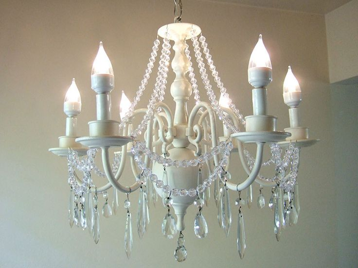 Shabby Chic Chandelier See More Diy Vintage Perfect But Will Do In Black