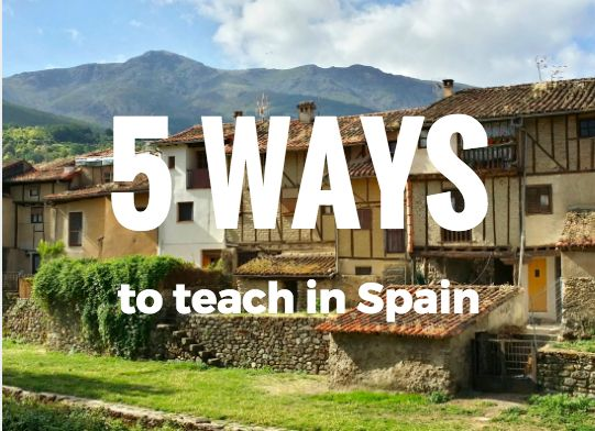 Have you ever thought about teaching in Spain but never knew how many programs you can choose from? Maybe you want to get your masters in Spanish teaching or bilingual education? Here are five ways you can do those things while also experiencing the beauty that is España.