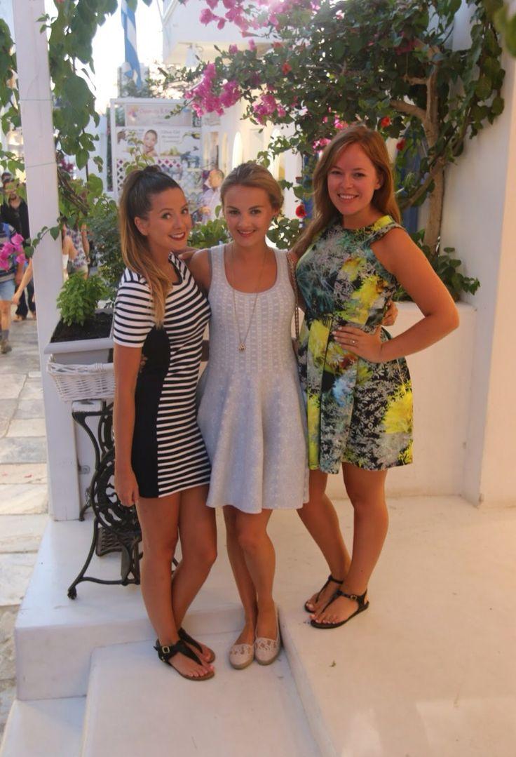 Zoe, Niomi, and Tanya