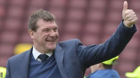 St Johnstone's Tommy Wright wins manager of the season award