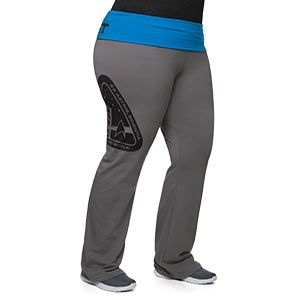 Starfleet Plus Size Yoga Pants - Exclusive | ThinkGeek Kudos to ThinkGeek for expanding their collection to include plus sizes.