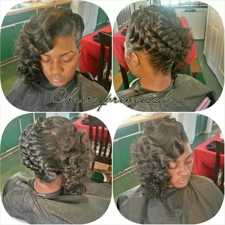goddess & curls braids twist