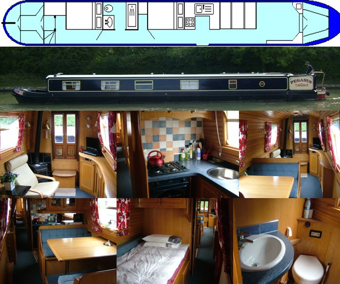 PEGASUS 2004 65FT SEMI-TRAD- £59,000 - SOLD www.calcuttboats.com