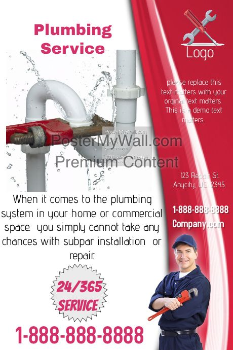 Best Plumbing Flyers Images On   Plumbing Flyers And