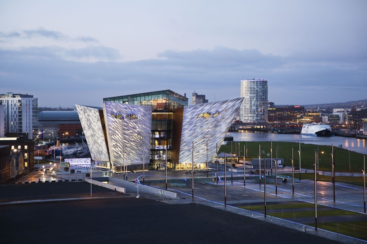 Amazing #Titanic Quarter pictures