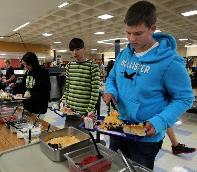 Federal Food Guidelines For High School Student Lunches