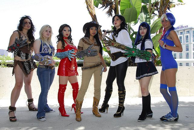 Seven Bearers of the Witchblade: #cosplay