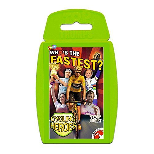buy now   £3.90   Classic Top Trumps Cycling Top 30 Stars – Top Trumps brings you the kings and queens of the road in their shiny gear. Challenge Froome against Contador,  ...Read More