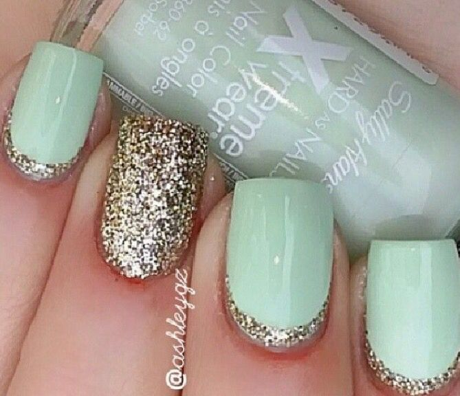 8 best Winter nails images on Pinterest | Nail design, Cute nails ...