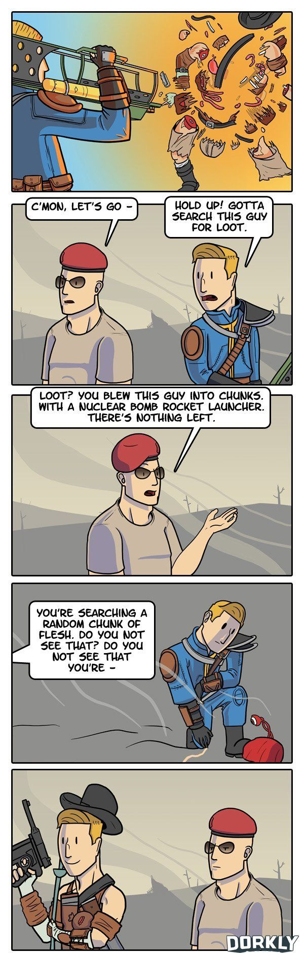 """""""How To Find All the Best Fallout Loot"""" #dorkly #geek #fallout"""