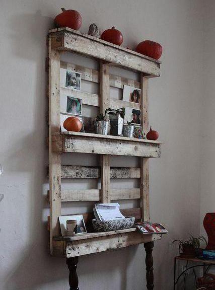 мебель из паллет фото
