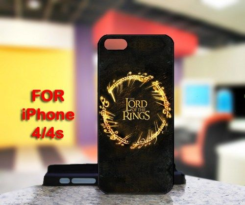 The Lord of the Rings For IPhone 4 or 4S Black Case Cover