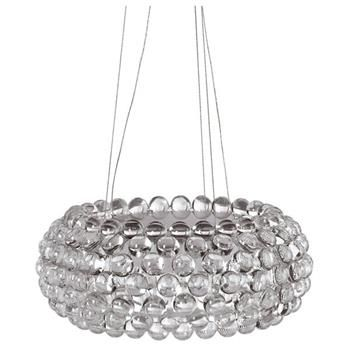 Bulle Clear Hanging Chandelier by Nuevo Living | Ceiling Lights