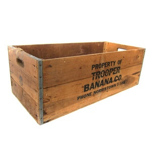 Crates Bananas And Products On Pinterest