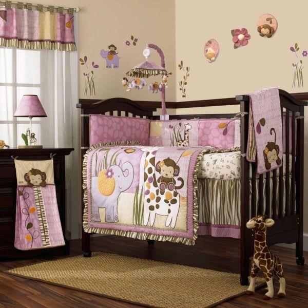 Simple Babyzimmer Gestalten s e Tier Muster f r Ihre Kleinen