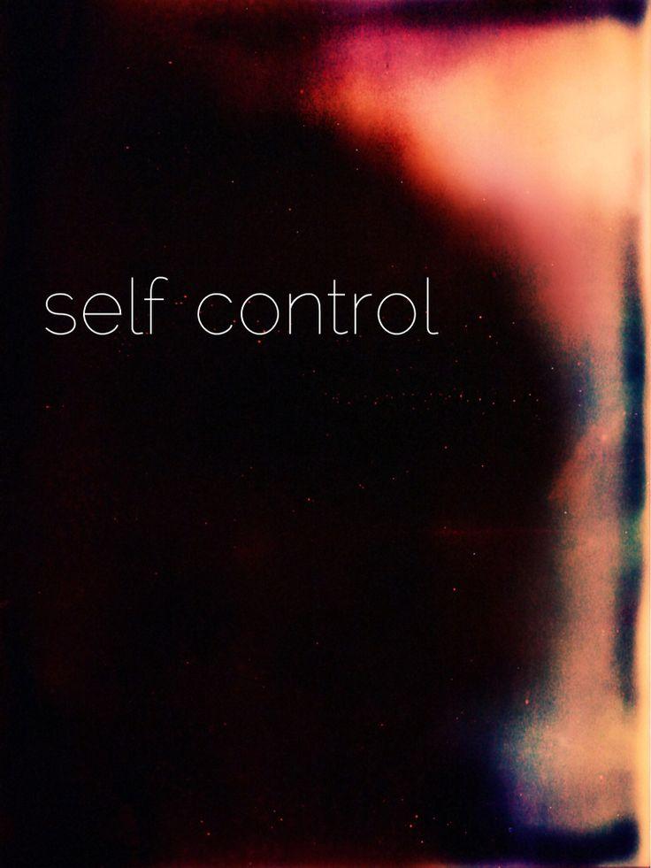 .self control { fruit of the spirit series }